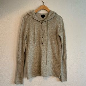 J. Crew Sweaters - J. Crew 100% Italian Cashmere Getaway Hoodie